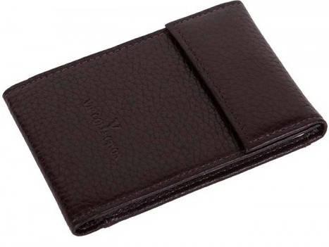Превосходная кожаная обложка для карточек Vip Collection 13B croc коричневый