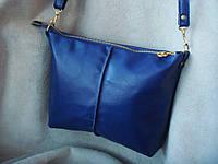 Стильная сумка- клатч  из натуральной кожи