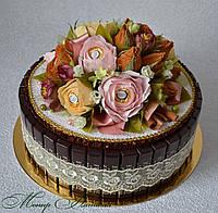 """Торт-шкатулка из конфет """"Белиссимо"""""""