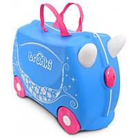Чемодан на колесах детский Trunki Princess Pearl