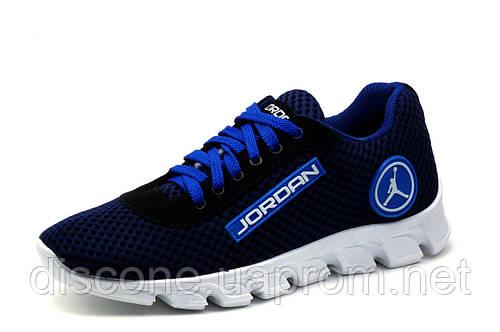 Кроссовки мужские Jordan, текстиль, синие