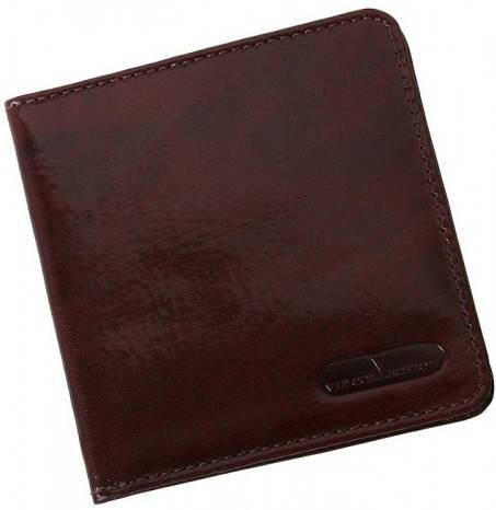 Отличный кожаный картхолдер Vip Collection K1B NP коричневый