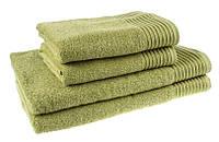 """Полотенце (50х90 см) махровое """"Terry Lux 400"""" для лица, оливковое"""