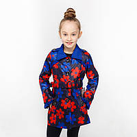 Весенняя куртка-жилет для девочки на рост 122-152 см