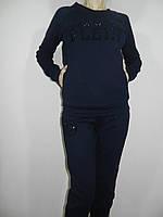 Стильный спортивный костюм Philipp Plein темно-синий ViroClub Турция рр. 42-50