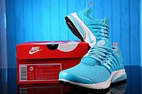 Кроссовки женские беговые Nike Air Presto Flyknit Weaving Light Blue Оригинал
