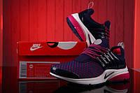 Кроссовки женские Nike Air Presto Flyknit Weaving Purple Оригинал