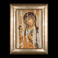 Вышивка крестом Икона Владимирской Божьей матери