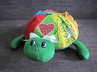 Детская развивающая игрушка Черепаха ручная работа