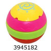 Прамидка -неваляшка мяч конструктор с 5-ти деталей 17*17см