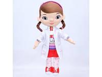 Мягкая игрушка Доктор Плюшева, девочка Дотти, 45см