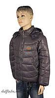 Куртка для мальчика  демисизонная 4-7 лет цвет серый
