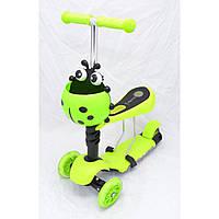 Самокат беговел 3 в1 M-80 micro maxi trolo new scooter