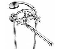 Смеситель для ванной с двухпозиционным картриджным переключателем