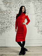 Платье Monochrome красное