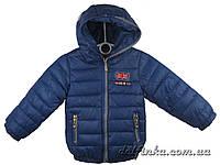 Куртка для мальчика демисизонная 1-4 лет цвет синий