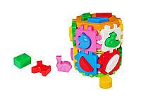 Игрушка куб «Умный малыш Конструктор» 2001 ТехноК