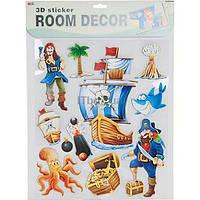 """Декорации для детской комнаты """"Пираты"""""""