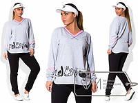 Удобный женский спортивный размер  с 48 по 56 размер