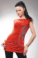 Туника - футболка женская