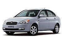Подкрылки задние Хюндай Акцент (2006-2010) Hyundai Accent