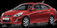 Подкрылки передние Хюндай Акцент (2010-) Hyundai Accent