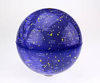 Глобус вращающийся Созвездия с подсветкой, 20 см