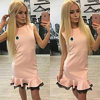 """Стильное короткое платье """"Chanel"""""""