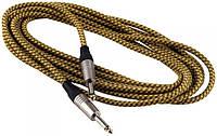 Кабель инструментальный ROCKCABLE RCL30203 TC D/GOLD