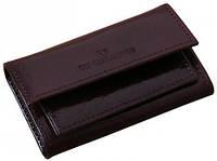 Великолепный футляр для ключей Vip Collection 80B NY коричневый