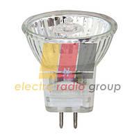 JCDR  220V цоколь G5,3, 50w. прозрачная лампа гплогенная со стеклом