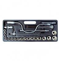 Набор головок и комплектующих Intertool HT-2225