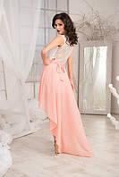 Платье женское с хвостом в расцветках 9453