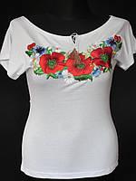 Вышитая футболка для женщин