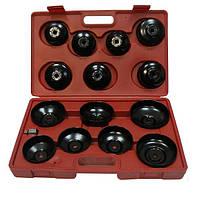 Комплект съемников масляных фильтров Heshitools HS-E1245