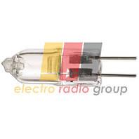 JC-12V цоколь G4, 10W, прозрачная лампа галогенная капсульная