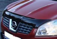 Дефлектор капота Nissan Qashqai 2007-2009 до рестайлинга