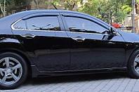 Дефлектор окон Honda Accord 2008-2013 Sedan