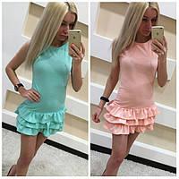 Молодежное платье на лето (арт. 2224821476)
