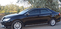 Дефлектор окон Toyota Camry V50 2011 -> С Хром Молдингом