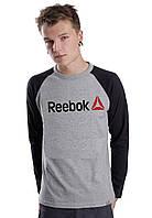 Мужской Свитшот (с начёсом) Reebok