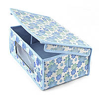 Короб для хранения Голубой Нежность , органайзер для вещей