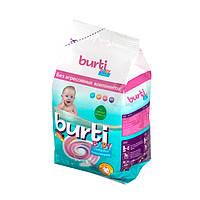 Бесфосфатный стиральный порошок Burti Baby Compact для детского белья 0,9 кг