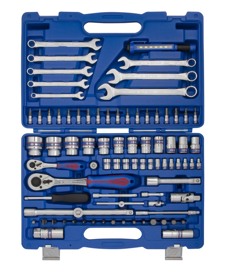 Набор инструментов 83 ед. 1/4'+1/2' KINGTONY SC7583MR