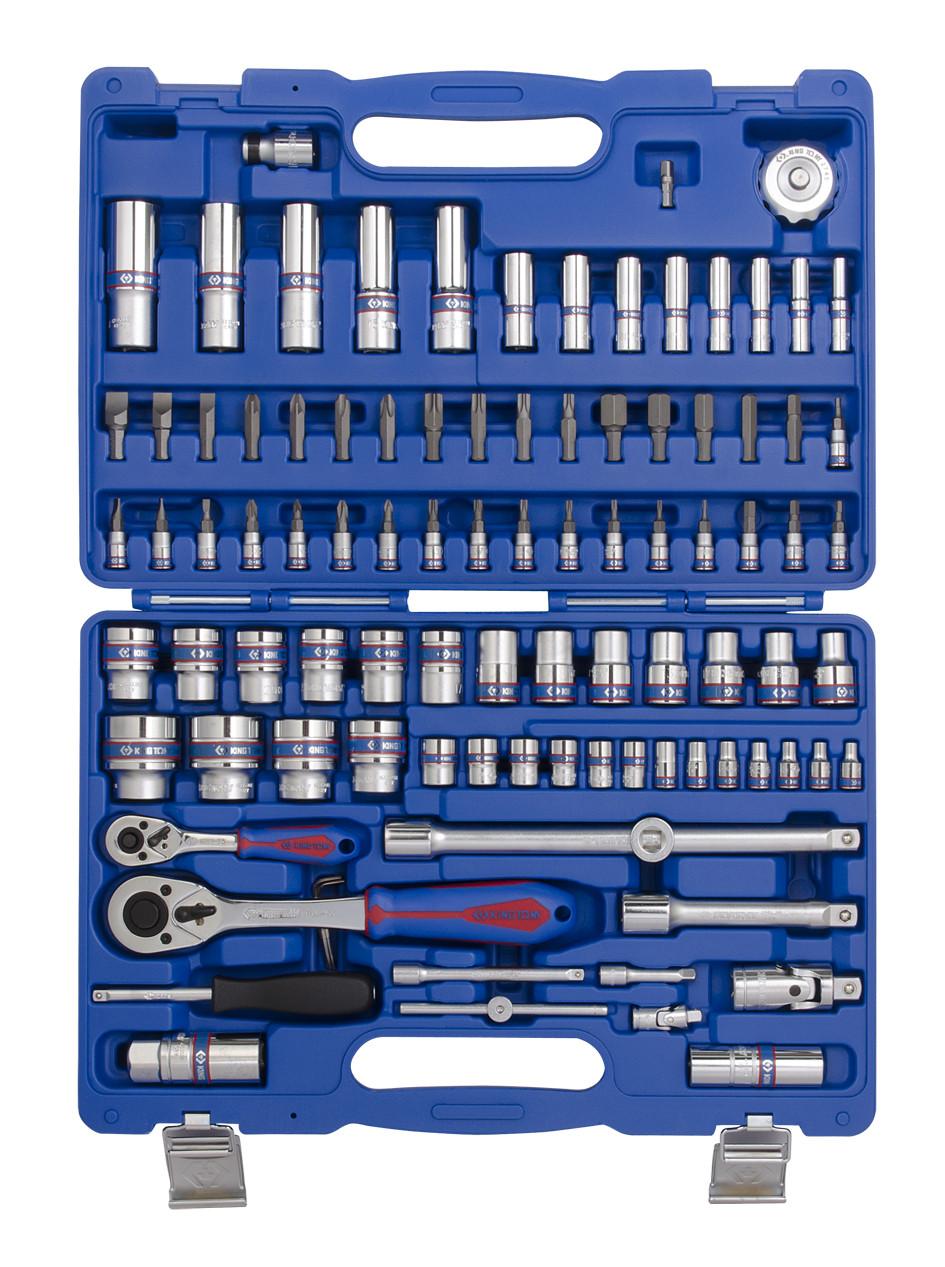 Набор инструментов 96 ед. 1/4'+1/2' KINGTONY SC7596MR