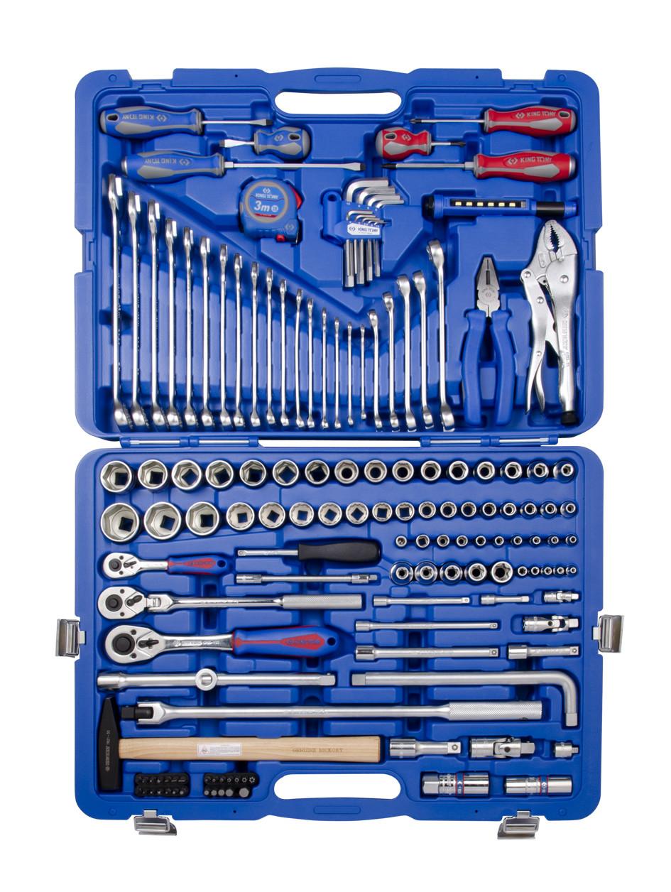 Набор инструментов 143 ед. 1/4'+1/2' KINGTONY SC9543MR