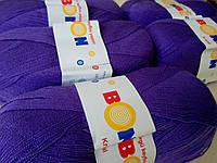 Пряжа акриловая Kristal Bon Bon фиолетовый