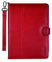 "Кожаный элегантный чехол-папка для планшета диагональю 9.7"" ODOYO GENUINE LEATHER Ipad Air (RED) PA536RD"