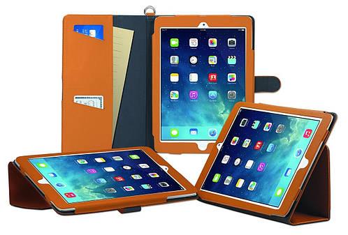 "Кожаный женский чехол-папка для планшета диагональю 9.7"" ODOYO GENUINE LEATHER Ipad Air (SANDY YELLOW) PA536SY"