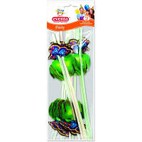 Трубочки для напитков Eventa Party Бабочки 12 шт